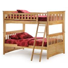 Columbia Full Over Full Bunk Bed by Night And Day Ginger Full Over Full Bunk Bed