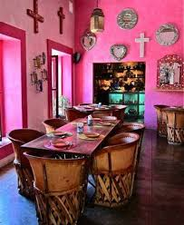 home designs and decor mexican house interior pink wall