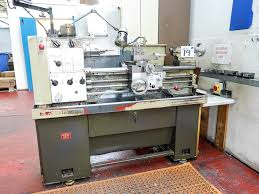 harrison m300 straight bed centre lathe metric machine with 2