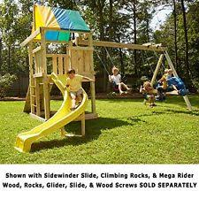 Metal Backyard Playsets by Swing Sets Wooden Metal Kids U0026 Backyard Ebay
