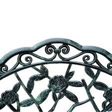 amazon com outsunny cast iron antique rose style outdoor patio