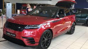 gia xe oto lexus rx 450h xe 5 chỗ range rover velar 2 0 và 3 0 màu đỏ