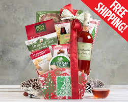 wine baskets free shipping free shipping wine gift gallery