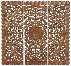 majestic design wood medallion wall decor amazing ideas