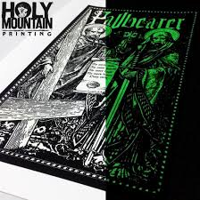 glow in the dark poster pallbearer saints glow in the dark poster holymountainprinting