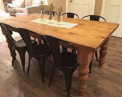 Farmhouse Dining Room Sets Farmhouse Table Etsy