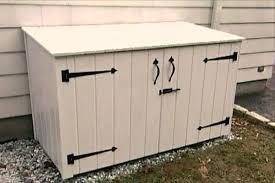sterilite storage home depot black friday how to build a trash shed garbage bin storage box garbage bin