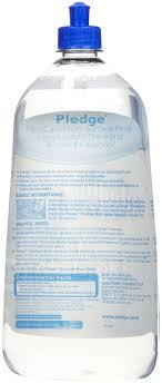 amazon com sc johnson pledge floor care multi surface finish 27