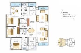 millennium floor plans 2bhk 3bhk flats floors plans