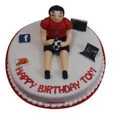 football cake football cake football birthday cake yummycake