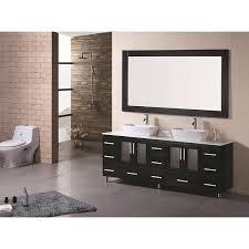 72 Inch Double Sink Bathroom Vanities Design Element Stanton 72 Inch Double Sink Bathroom Vanity With