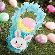 Easter Decorations With Crepe Paper by 72 Best May Baskets And Such Images On Pinterest Easter Crafts