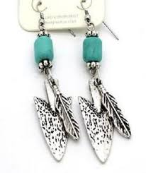 feather earrings s arrow and feather earrings on wire up trendy