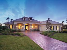 Mediterranean Modern Home Plans At Dream Home Source New Homes - Modern style home designs