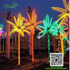 sjfgs 03 colorful led coconut palm tree light stage decoration led