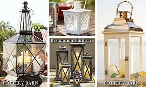 Diy Lantern Lights Pottery Barn Inspired Lantern From 5 Restore Light Fixture