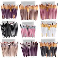 Professional Makeup Tools Makeup Brushes 20 Pcs 16 Color Professional Soft Cosmetics Beauty