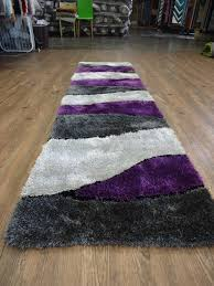 Shaggy Runner Rug Purple Runner Rug Home Design Ideas And Pictures