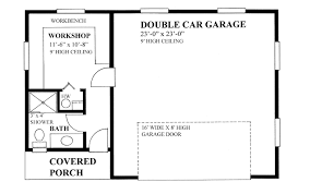 garage floor plans free free building plans for a garage homes zone