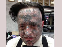 think before you ink horrendous bad face tattoos gallery