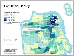san francisco map downtown map shows gentrification in san francisco by childless tech