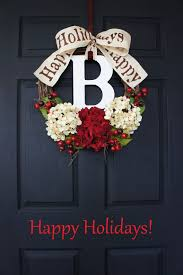 Images Of Decorated Christmas Wreaths by 96 Best Christmas Wreaths Images On Pinterest Holiday Wreaths