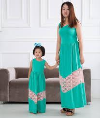 2016 clothing dresses family clothing sets