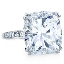 big diamond engagement rings a big diamond ring get the look