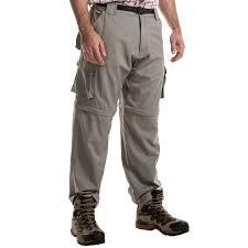 dakota grizzly supplex nylon convertible pants for men save 63