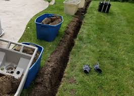 trench digging without nasty lawn scars startribune com
