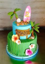 Tropical Themed Cake - moana cake by torte titiioo cakes infantiles pinterest