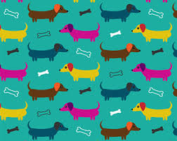 dachshund wrapping paper dachshund gift wrap etsy