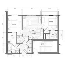 Floor Plan Bedroom Floor Plans The Merc At Moody U0026 Main