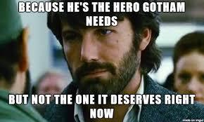 Ben Affleck Batman Meme - los memes de ben affleck y batman