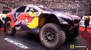 peugeot dakar 2015 peugeot 2008 dkr rally dakar racing suv exterior walkaround