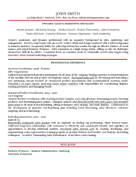 gallery of sales marketing specialist resume traditional variation