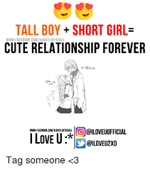 Memes For Relationships - tall boy short girl www facebook comiloveuofficiall cute