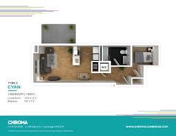 models chroma u0027s floor plans apartments in cambridge ma