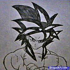 learn draw goku super saiyan 4 dragon ball characters