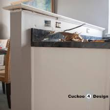 half wall kitchen designs cutting down the kitchen half wall cuckoo4design