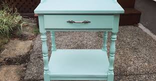 wood end tables in painted furniture hometalk