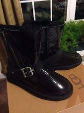 womens ugg blaise boots ugg australia patent leather comfort boots for ebay