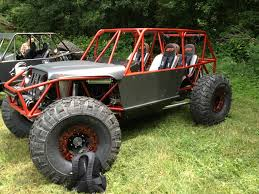 jeep rock crawler buggy ibex 4 seat chassis goat built