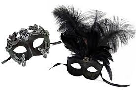 masquerade masks for women black masquerade mask for men and women his and hers