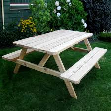 Patio Furniture Guelph by Outdoor Living Today Pic65 Cedar Picnic Table Lowe U0027s Canada