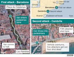 spain attacks terror timeline bbc news