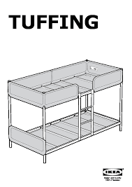 TUFFING Bunk Bed Frame IKEA United Kingdom IKEAPEDIA - Ikea bunk bed assembly instructions