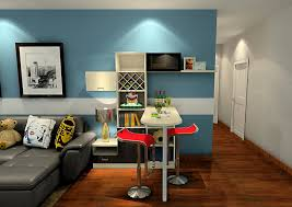 mini bars for living room living room and mini bar with blue wall interior design