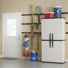 Ball Organizer Garage - rubbermaid fasttrack garage organization system vertical garage