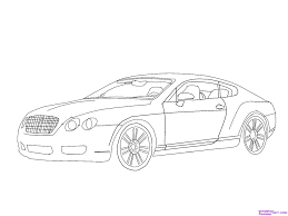 bentley sports car white how to draw a bentley step by step cars draw cars online